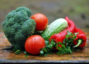 瑞々しい野菜