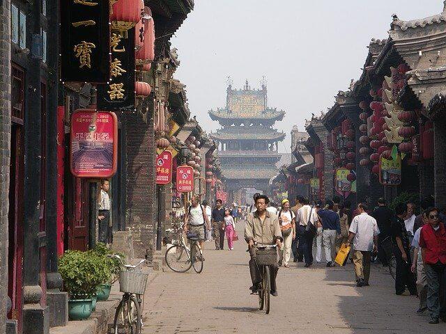 中国の路地