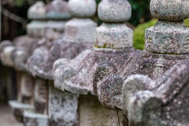 三井寺の灯籠