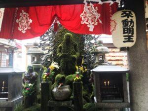 法善寺の不動明王像
