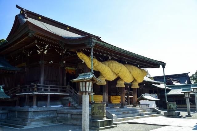 福岡の宮地嶽神社