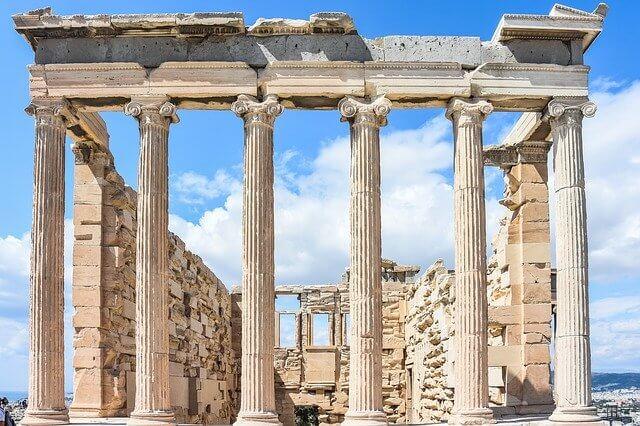 ギリシャ神殿(パルテノン神殿)